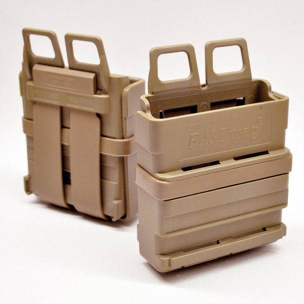 ITW FastMag GEN3 Molle PALS 7.62mm Magazine Holders Tan