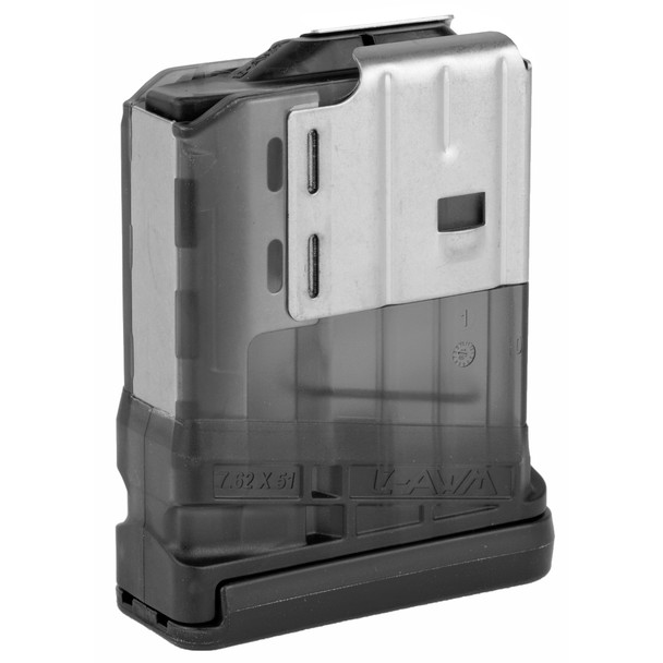 Lancer 7.62mm 10rd Translucent Smoke Magazines