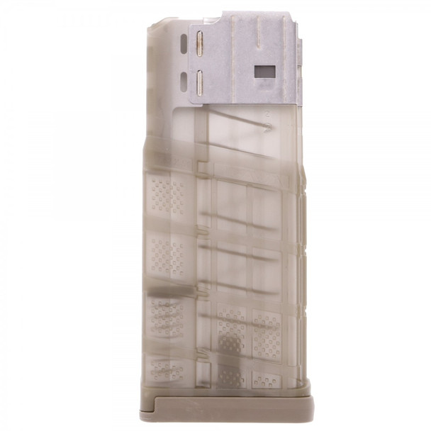 Lancer L7AWM 7.62mm 25rd Translucent FDE Magazines