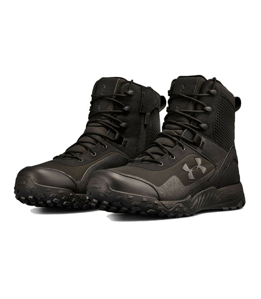 Under Armour 3021036 Men's UA Valsetz RTS 1.5 Side Zip Tactical Boots