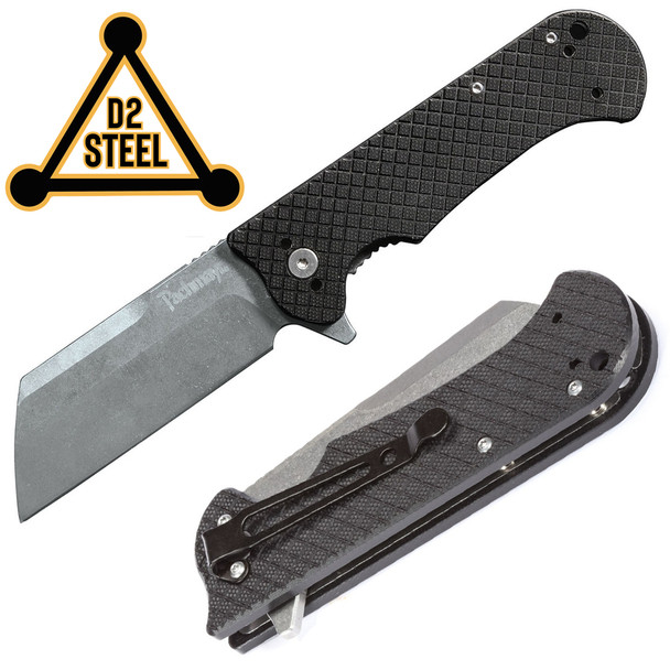 Pachmayr GRUNT Folding Knives D2 Tool Steel Blade