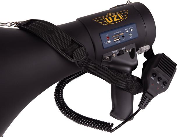 UZI 50 Watt Megaphone w/Rubber Coating