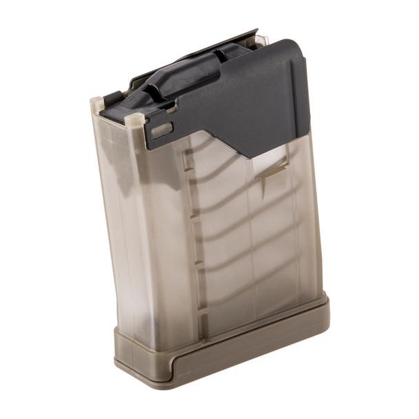 Lancer L5AWM Translucent 5.56mm Magazines 10rd / Flat Dark Earth