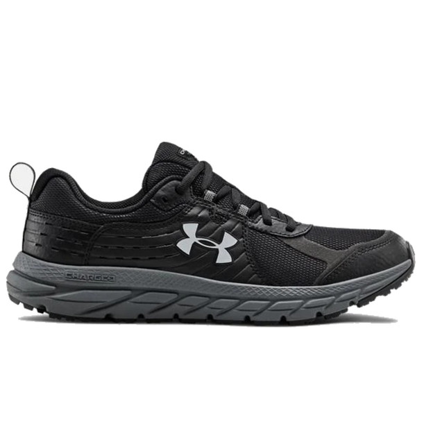 Under Armour 3021955 Men's Charged Toccoa 2 Trail Running Shoes, Black / Pitch Gray