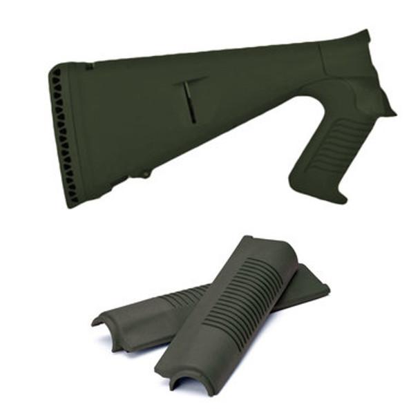 Mesa Tactical Benelli M4 Urbino Pistol Grip Stocks & Forend Set, OD Green