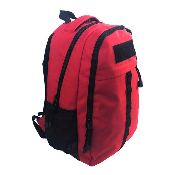 Battle Steel Everyday Backpacks, Red For Medical Use