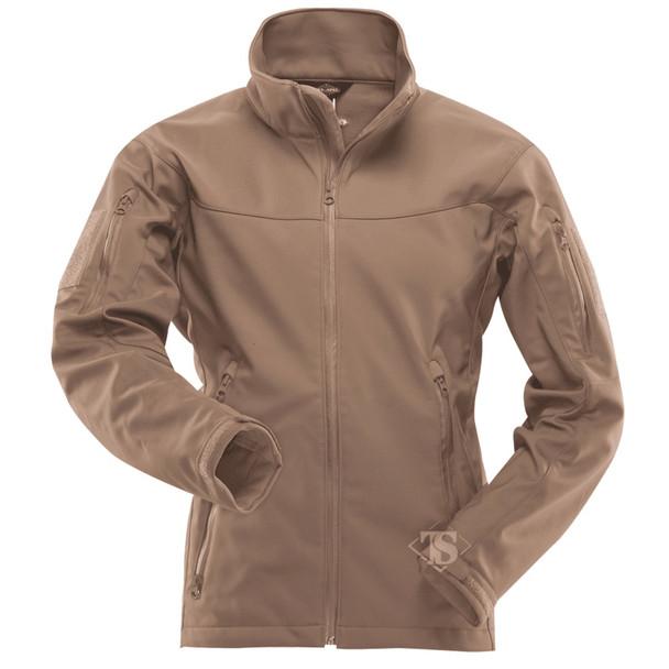 Tru-Spec 2459 24-7 Series Tactical Softshell Jacket, Coyote
