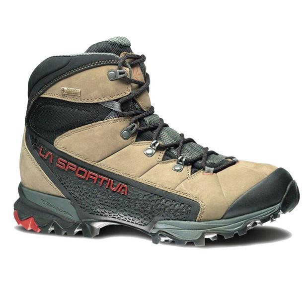 La Sportiva Nucleo High GTX Boots, Taupe/Brick