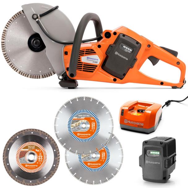 Husqvarna K535i Power Cutter Breacher/Rescue Package