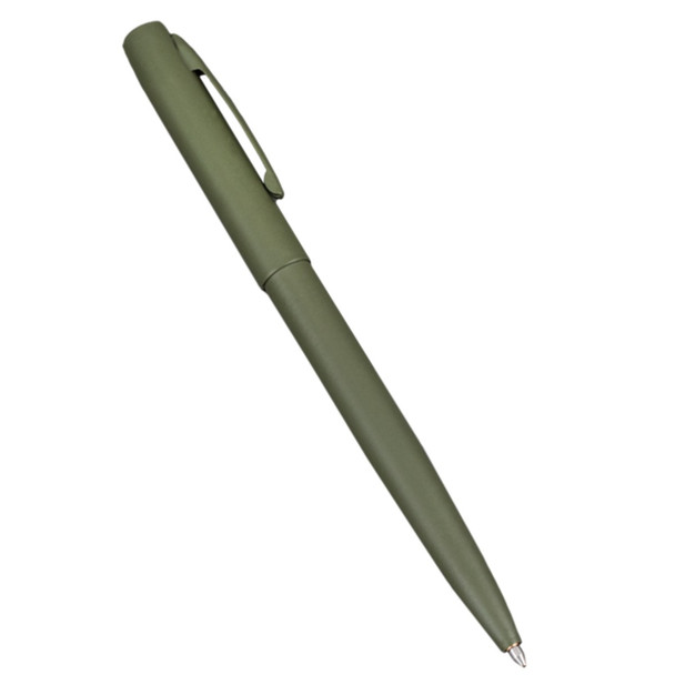 Rite In The Rain #97 All-Weather Metal OD Green Pen, Black Ink
