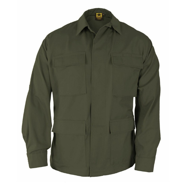 Propper F545438330 Poly Cotton Ripstop BDU Coats, Olive