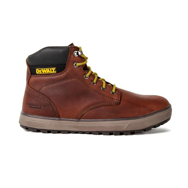 DeWalt DXWP10024M Men's Plasma PT (Plain Toe) Work Boots, Walnut Pit Stop