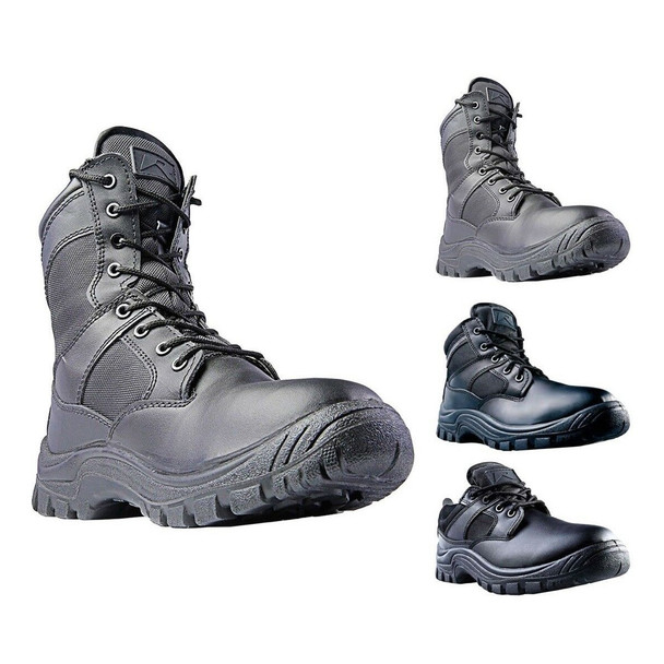 Ridge Outdoors Nighthawk Black Shoes, Multiple Styles