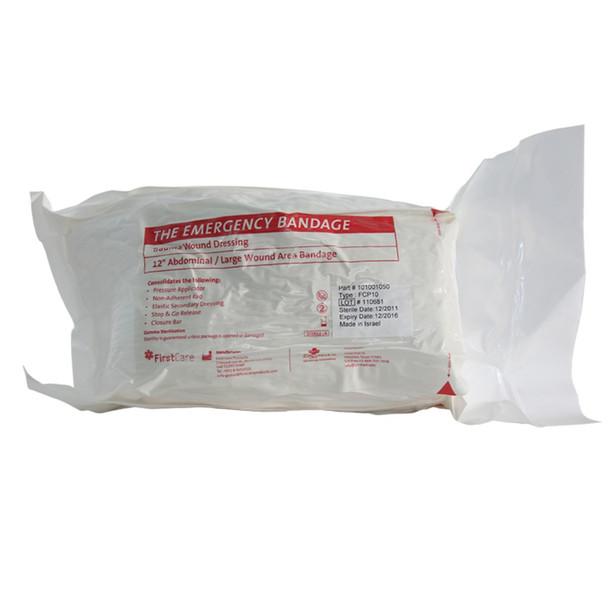 "PerSys Abdominal Medical 12x12 Bandage 8"" White"
