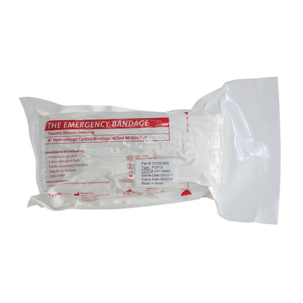 """PerSys 6"""" Emergency Medical Bandage w/ 2nd Mobile Pad"""