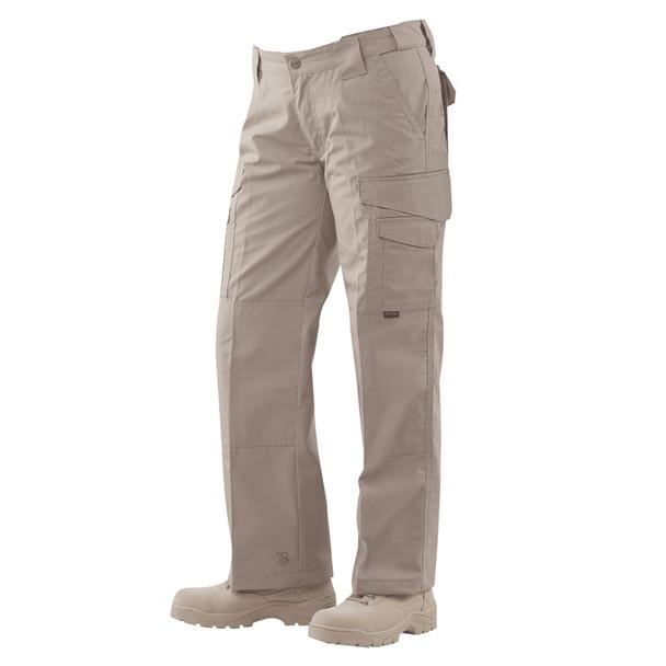 Tru-Spec 1095 24-7 Ladies Tactical Pants, Rip-Stop, Khaki