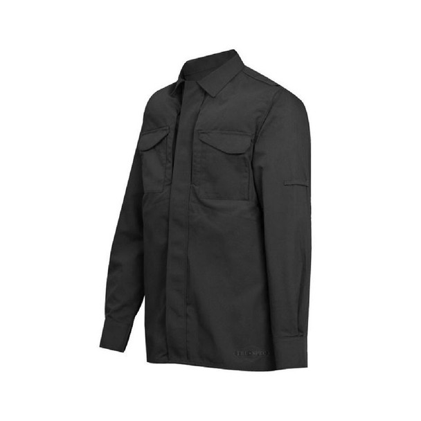 Tru-Spec 1052 24-7 Series Tactical Uniform Long Sleeve Shirts, Black