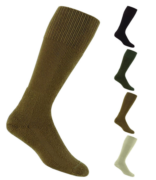 Thorlos MCB Unisex Combat Boot Socks