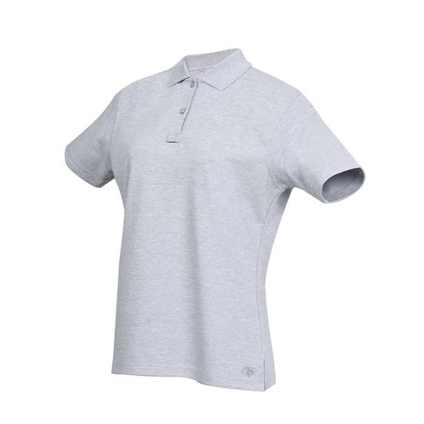 Tru-Spec 4397 24-7 Series Women's Short Sleeve Original Polo, Grey, X-Large, Regular