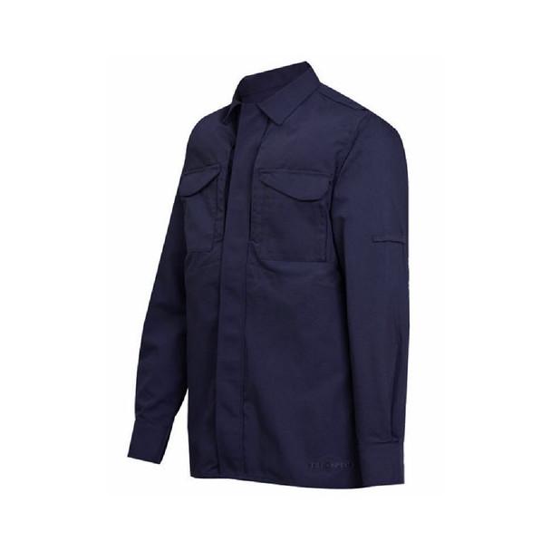 Tru-Spec 1053 24-7 Series Tactical Uniform Long Sleeve Shirts, Navy
