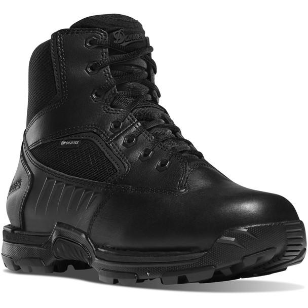 "Danner 26635 Men's Striker Bolt Side Zip Waterproof Black 6"" Boots"