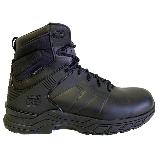 "Timberland Men's Hypercharge Waterproof Black 6"" Boots"