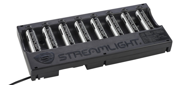 Streamlight 20224 USB 18650 Battery Bank Charger w/Batteries 120V AC