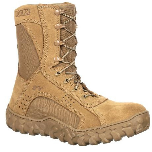 Rocky RKC089 S2V Composite Toe Tactical Military Boot Light Brown