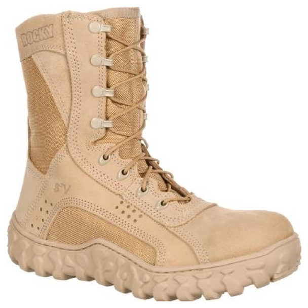 Rocky FQ0000101 S2V Tactical Military Boot Desert Tan