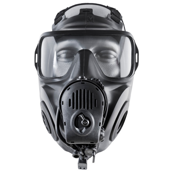 AVON FM53 Twin Port Gas Mask w/ Voice Projection