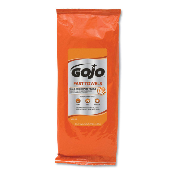 GoJo Fast Wipes 60 Count