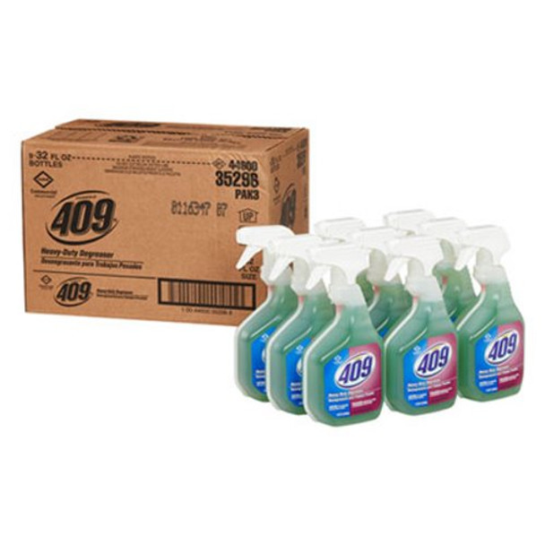 Clorox Professional Formula 409 Heavy Duty Cleaner Degreaser 9 /  32oz Spray Bottles