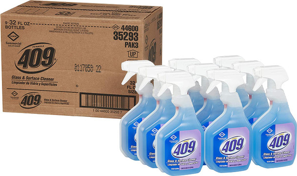 Clorox Formula 409 Glass & Surface Cleaners 9 /  32oz Spray Bottles