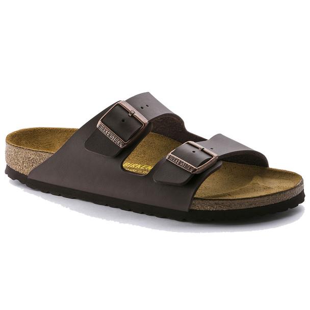 Birkenstock 51701 Dark Brown Birko-Flor Sandals