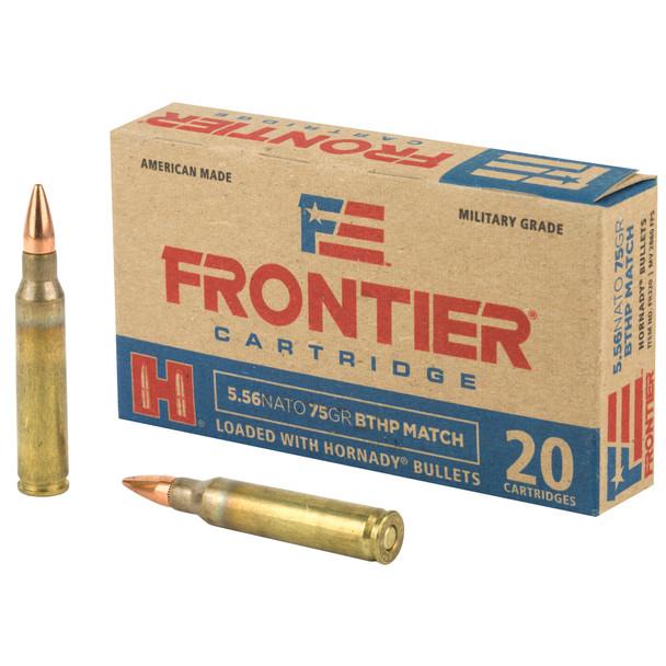 Frontier 5.56mm 75gr BTHP Ammunition 20rds