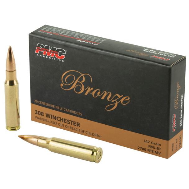 PMC Bronze 7.62mm 147gr FMJ Ammunition 20rd