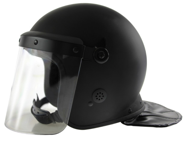 Haven Gear Adjustable Riot Helmet w/ Face Shield