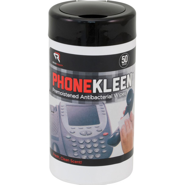 Read Right PhoneKleen Electronic Antibacterial Wipes
