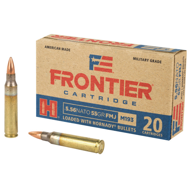Frontier FM193 5.56mm 55GR Ammunition 20 Rounds