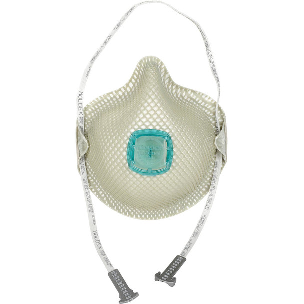 Moldex 2730N100 Particulate Respirators With HandyStrap & Ventex Valve 5/Pack