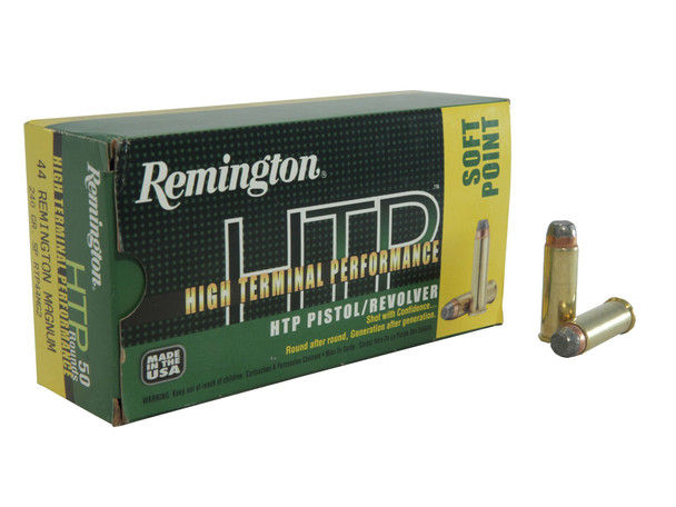 Remington HTP .44 Magnum 240gr JSP Ammunition 50rds
