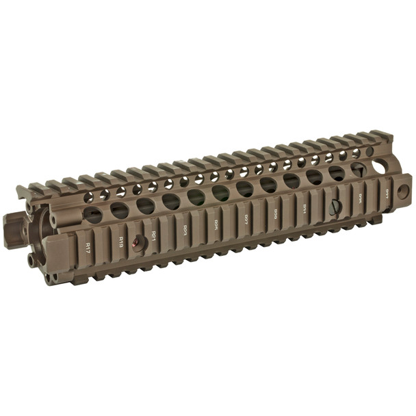 Daniel Defense MK18 RIS II Rail FDE, Free Float Forend  9.55""