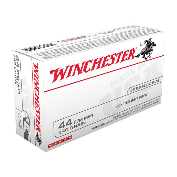 Winchester .44 Magnum 240gr JSP Ammunition 50rds
