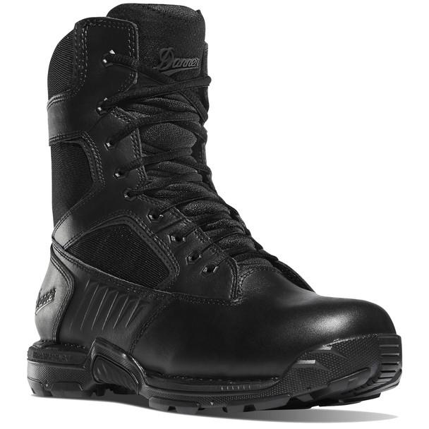 """Danner 26634 Men's Striker Bolt Side-Zip 8"""" Black Boots"""