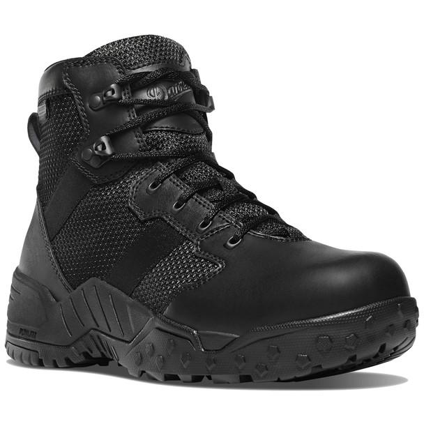 """Danner 25731 Men's Scorch Side-Zip Black Danner Dry 6"""" Boots"""