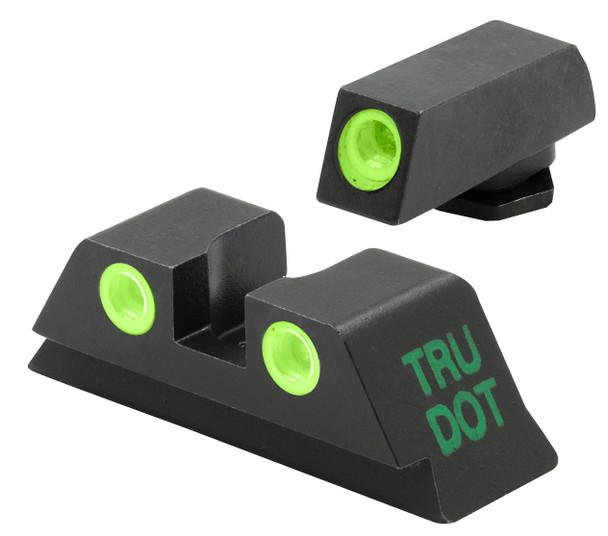 Mepro TRU-DOT Low-Profile Night Sights Glock 45ACP / 10mm