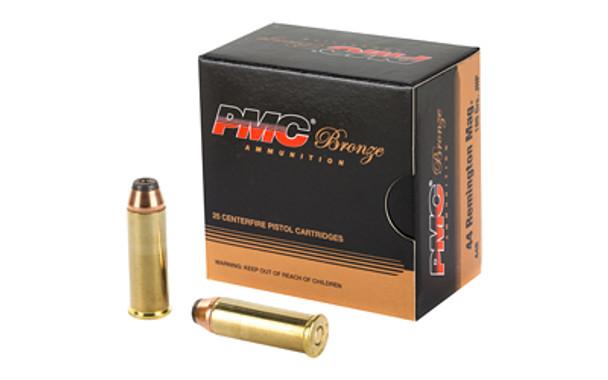 PMC Bronze .44 Magnum 180gr JHP Ammunition 25rds
