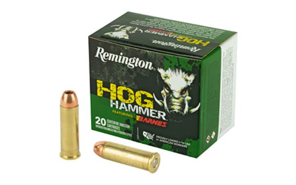 Remington Hog Hammer .41 Remington Mag 180gr Barnes XPB Ammunition 20rds
