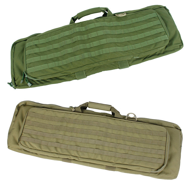 "Lancer Tactical T0765 Double 38"" MOLLE Rifle Case"
