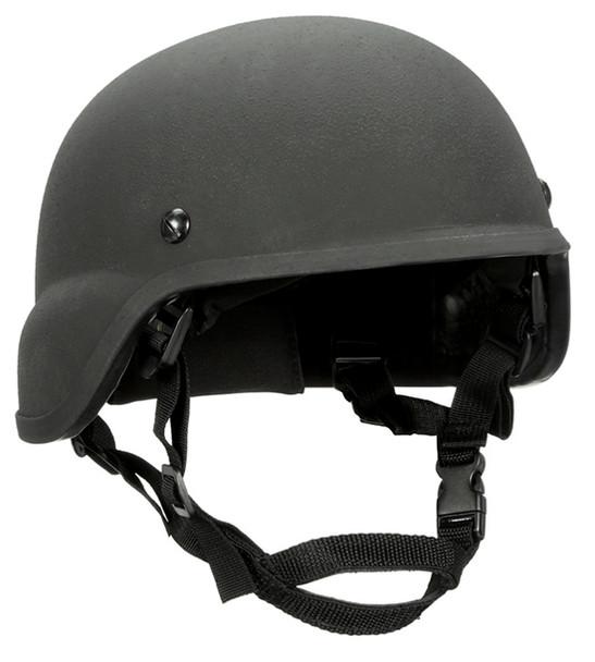 Ceradyne BA3A MICH Cut Level IIIA Ballistic Helmets